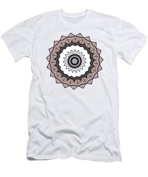 Construction Mandala By Kaye Menner Men's T-Shirt (Athletic Fit)