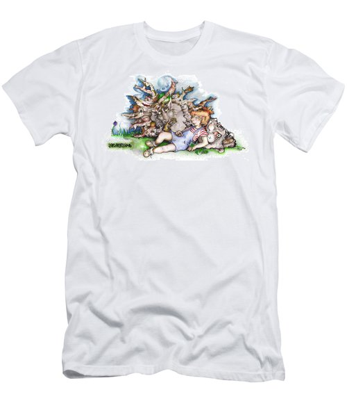 Cookies N' Naps Foto Men's T-Shirt (Athletic Fit)
