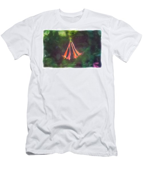 Coral Honeysuckle Men's T-Shirt (Athletic Fit)