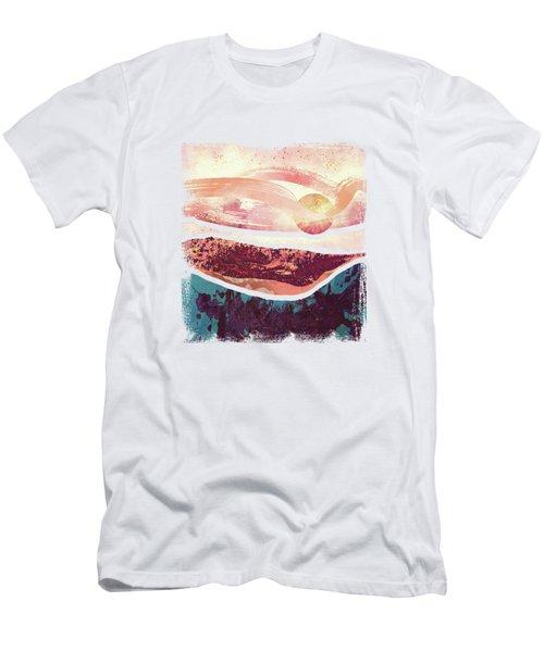Coral Sky Men's T-Shirt (Slim Fit) by Katherine Smit