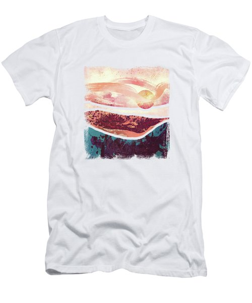 Coral Sky Men's T-Shirt (Athletic Fit)