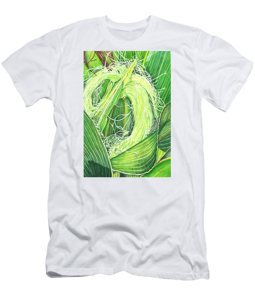 Corn Silk Men's T-Shirt (Athletic Fit)