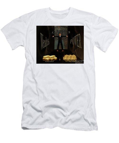 Corridor Of Wealth Men's T-Shirt (Athletic Fit)