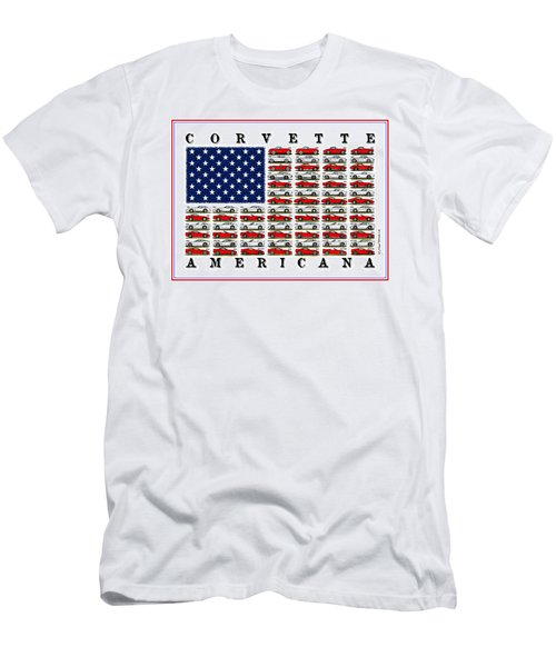 Corvette Americana Men's T-Shirt (Athletic Fit)
