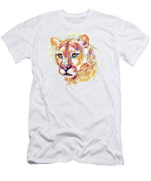 Cougar Head Men's T-Shirt (Athletic Fit)