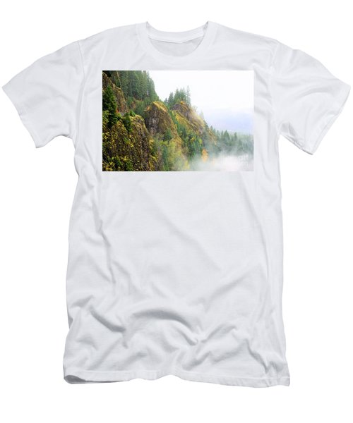 Cougar Reservoir Area Men's T-Shirt (Athletic Fit)