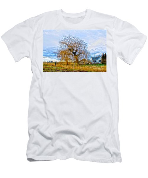 Country Life Artististic Rendering Men's T-Shirt (Athletic Fit)