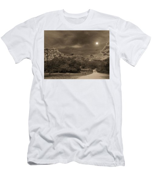 Men's T-Shirt (Slim Fit) featuring the photograph Country Moonlight by Beto Machado