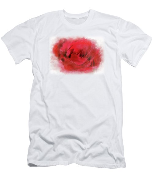 Country Rose Men's T-Shirt (Athletic Fit)