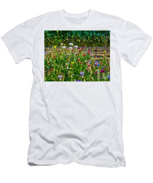 Country Wildflowers II Men's T-Shirt (Athletic Fit)