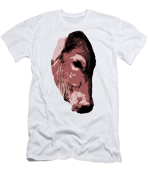 Cow Head Men's T-Shirt (Athletic Fit)