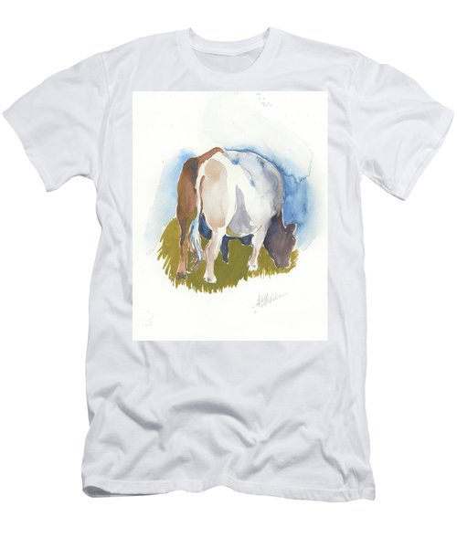 Cow I Men's T-Shirt (Athletic Fit)