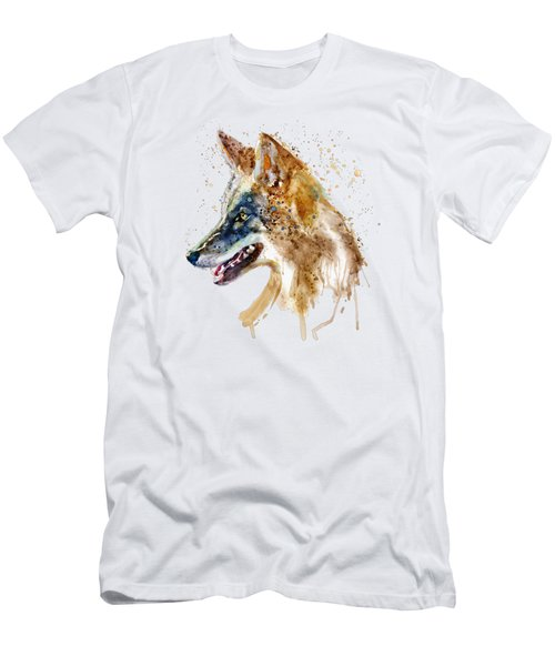 Coyote Head Men's T-Shirt (Athletic Fit)