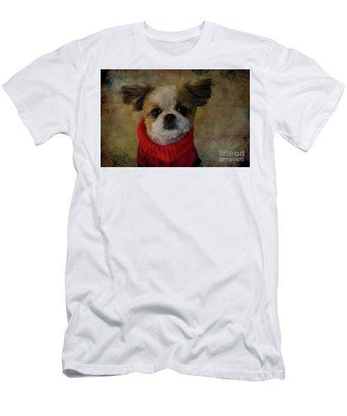 Cozy Sadie Men's T-Shirt (Slim Fit) by Al Bourassa
