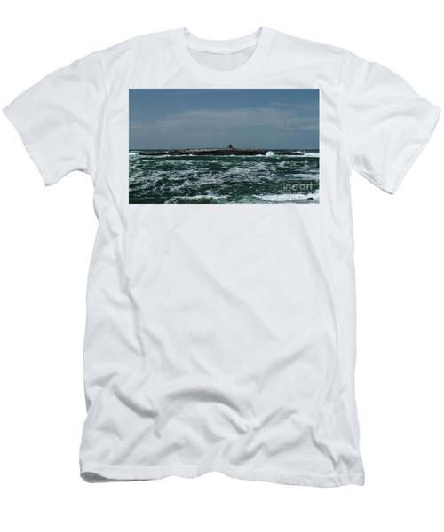 Crab Island Men's T-Shirt (Athletic Fit)