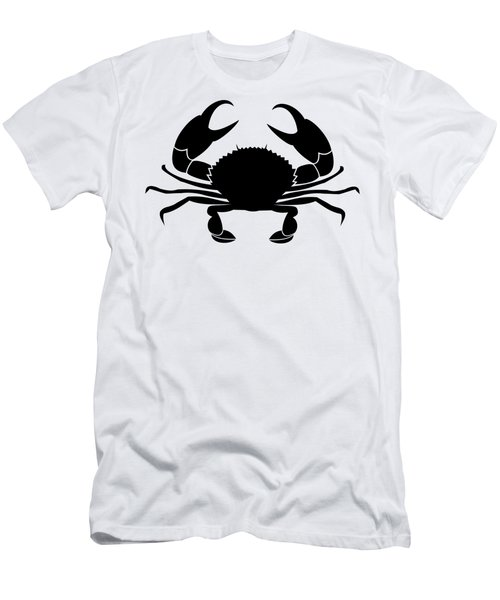 Men's T-Shirt (Athletic Fit) featuring the digital art Crab  by Donna Mibus