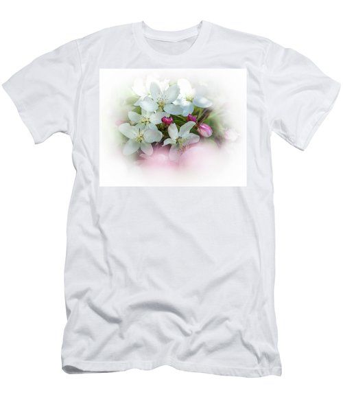 Crabapple Blossoms 3 - Men's T-Shirt (Athletic Fit)