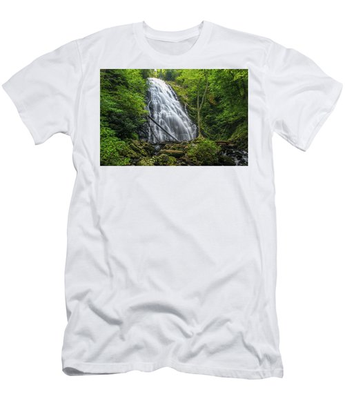 Crabtree Falls Men's T-Shirt (Athletic Fit)
