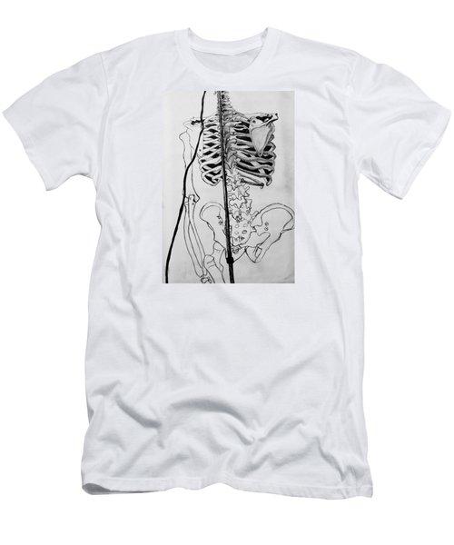 Crackling Bones Men's T-Shirt (Athletic Fit)