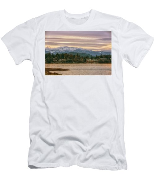 Men's T-Shirt (Slim Fit) featuring the photograph Craig Bay by Randy Hall