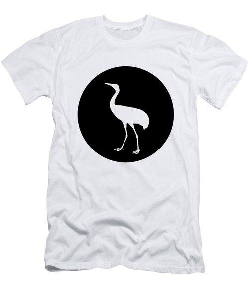 Crane Men's T-Shirt (Slim Fit) by Mordax Furittus