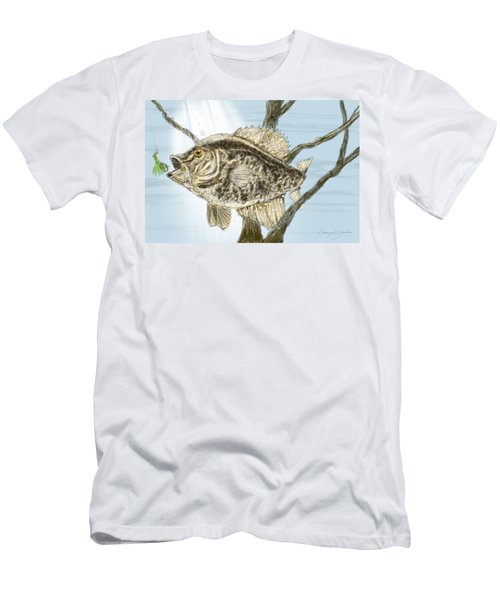 Crappie Time - 2 Men's T-Shirt (Athletic Fit)