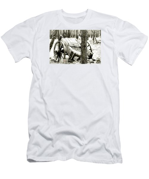 Men's T-Shirt (Athletic Fit) featuring the photograph Crash by Beauty For God