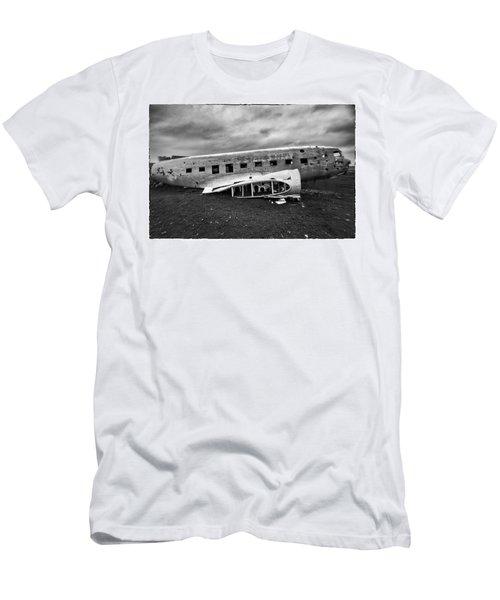 Crash Men's T-Shirt (Slim Fit) by Wade Courtney