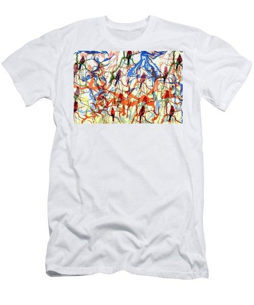 Crazy Cardinals Men's T-Shirt (Athletic Fit)