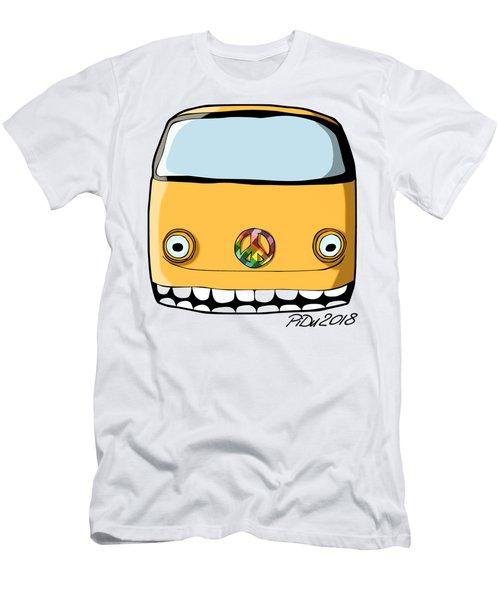 Crazy Retro Van Men's T-Shirt (Athletic Fit)