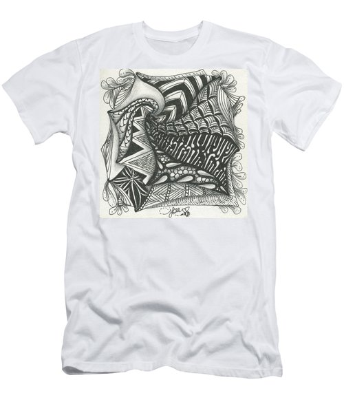 Crazy Spiral Men's T-Shirt (Athletic Fit)