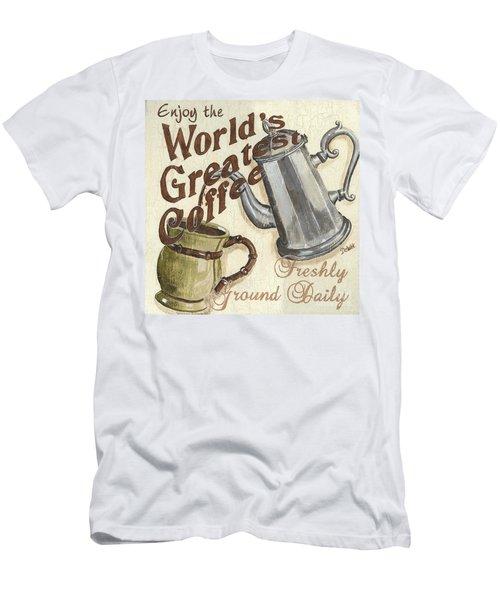Cream Coffee 1 Men's T-Shirt (Athletic Fit)