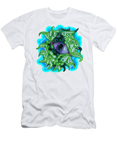 Creature Eye Men's T-Shirt (Slim Fit) by Adria Trail