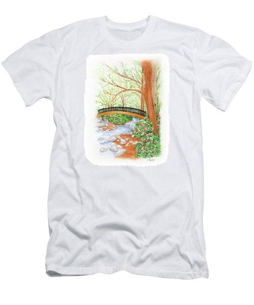 Creek Crossing Men's T-Shirt (Athletic Fit)