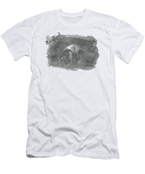 Creeping Panther Men's T-Shirt (Slim Fit) by iMia dEsigN