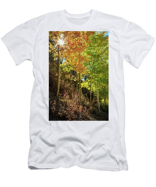 Men's T-Shirt (Slim Fit) featuring the photograph Crisp by David Chandler