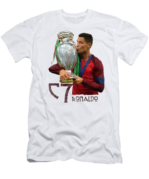 Cristiano Ronaldo Men's T-Shirt (Slim Fit) by Armaan Sandhu