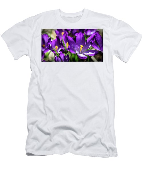 Crocus Amongst Us Men's T-Shirt (Athletic Fit)
