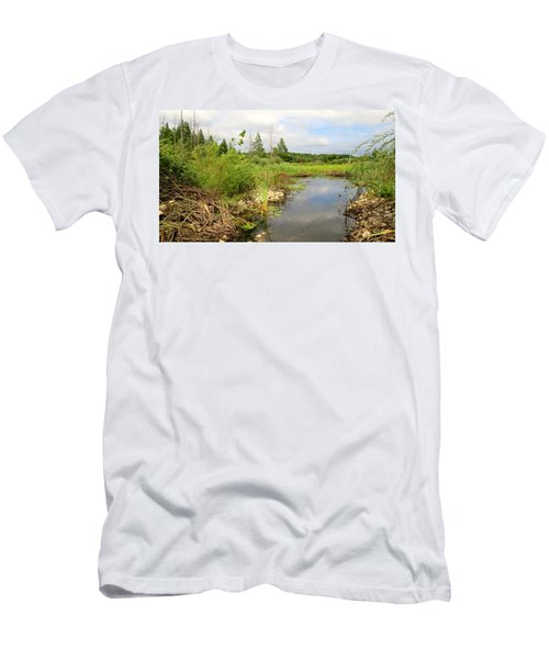 Crooked Creek Preserve Men's T-Shirt (Slim Fit) by Kimberly Mackowski