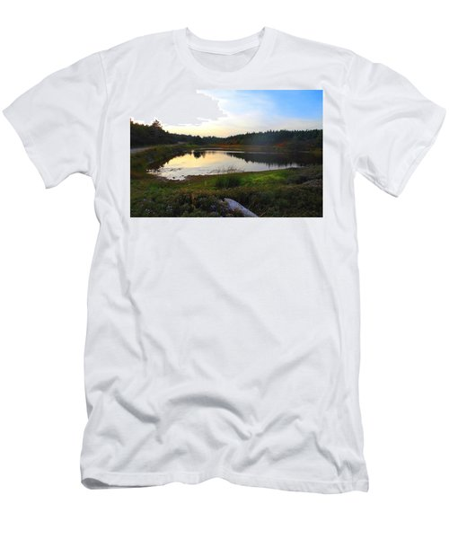 Crooked Lake Road Men's T-Shirt (Athletic Fit)