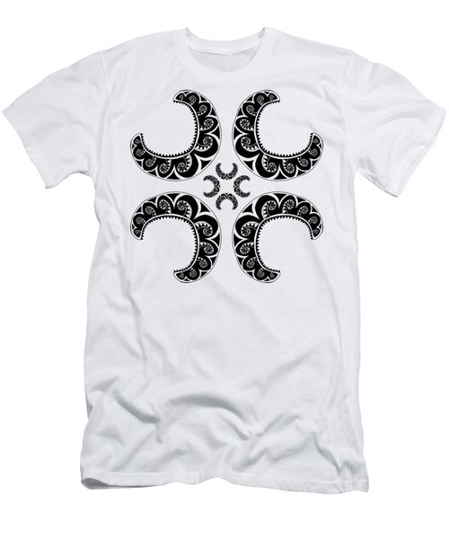 Cross Maori Style Men's T-Shirt (Athletic Fit)