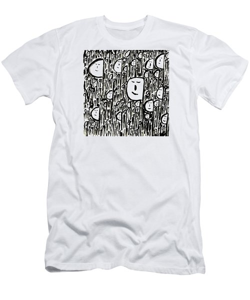 Crowd Men's T-Shirt (Athletic Fit)