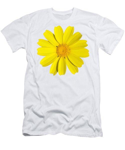 Crown Daisy Men's T-Shirt (Athletic Fit)
