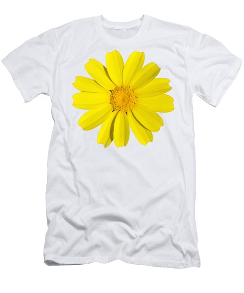 Crown Daisy Men's T-Shirt (Athletic Fit)