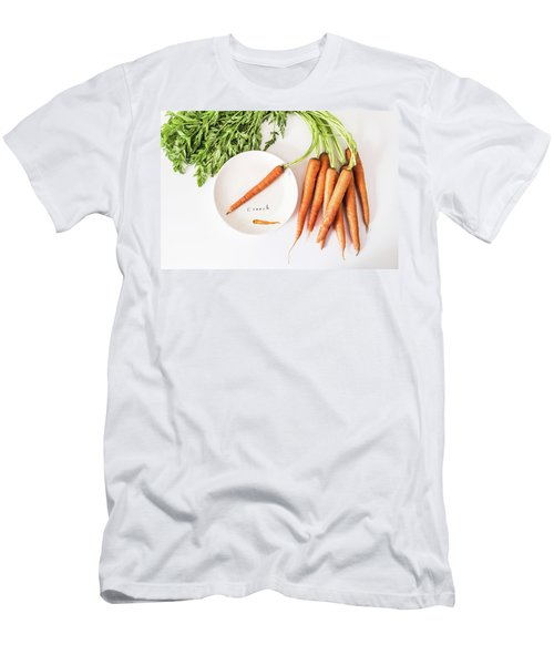 Men's T-Shirt (Athletic Fit) featuring the photograph Crunch by Kim Hojnacki