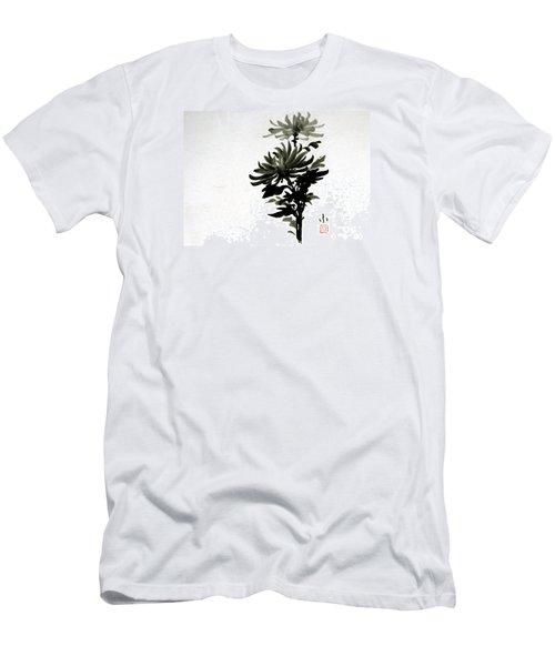 Crysanthemums Men's T-Shirt (Athletic Fit)