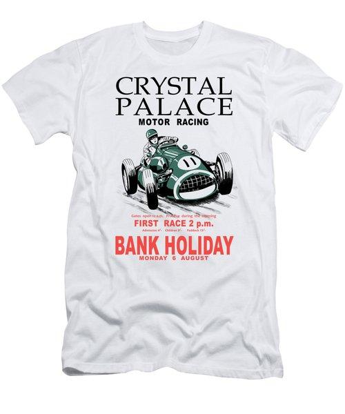 Crystal Palace Motor Racing Men's T-Shirt (Athletic Fit)