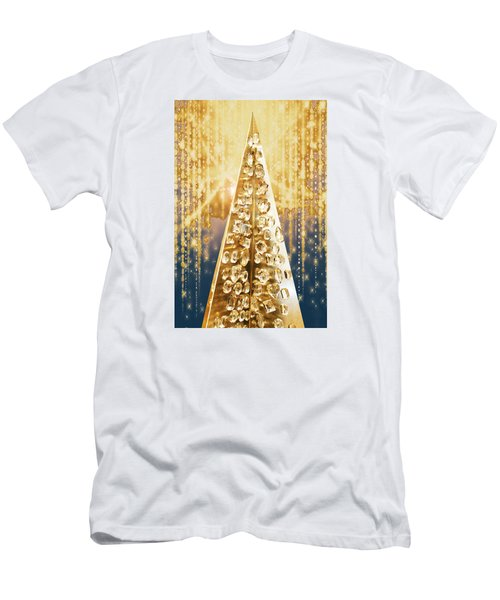 Crystal Tree Men's T-Shirt (Athletic Fit)