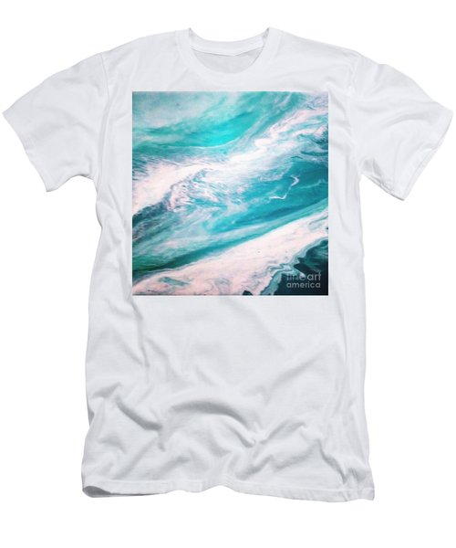 Crystal Wave13 Men's T-Shirt (Athletic Fit)