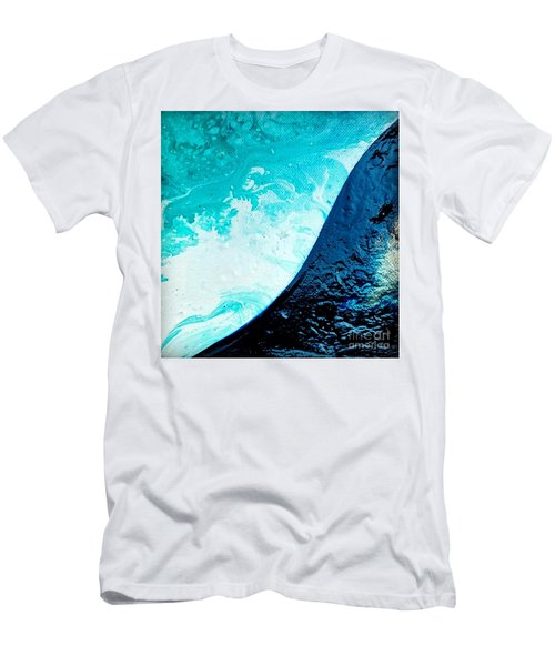 Crystal Wave8 Men's T-Shirt (Athletic Fit)